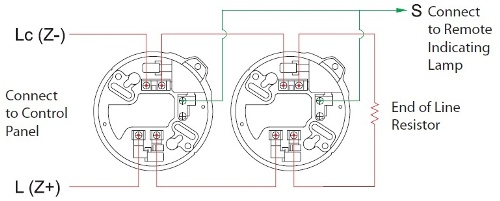 4 Wire Smoke Detector Wiring Diagram Vista 20 Smoke Alarms
